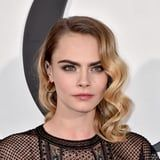 """Cara Delevingne Dyed Her Hair Brown and Admits """"Blondes Have More Fun, but Brunettes. . ."""""""