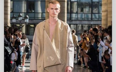 Hed Mayner draws from Israel's many tribes at Paris Fashion Week Men's