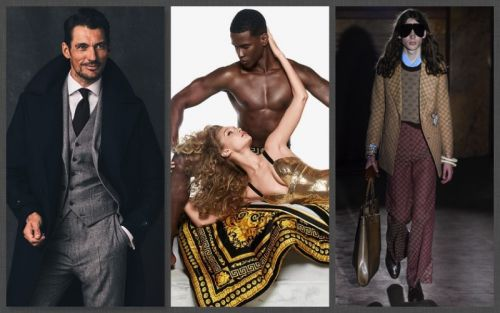 Week in Review: David Gandy, Versace Eros Flame, Gucci + More