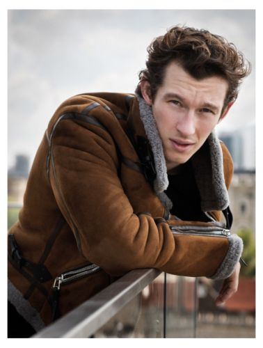 Callum Turner Connects with Country & Town House for Cover Feature