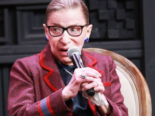 Photographic Proof Ruth Bader Ginsburg Has Always Loved Scrunchies