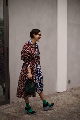 On the Street.At Marni, Milan