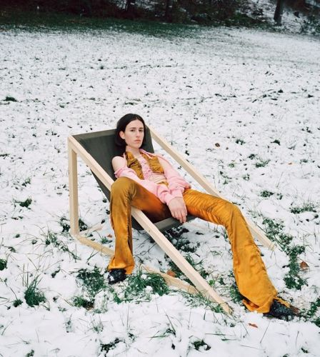 Ottolinger shoots a summer campaign in the Swiss snow