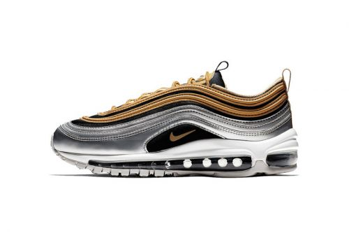 "Nike Air Max 97 Goes for First Place With ""Metallic Gold"" Pack"
