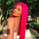 """""""Cool Mum"""" Kylie Jenner Debuts a New Neon Hairstyle For the First Day of Coachella"""