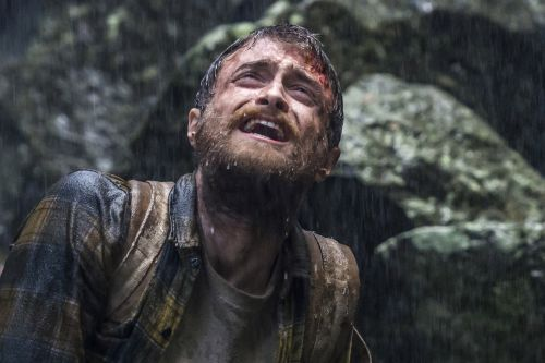 Daniel Radcliffe slices his own head open in new movie