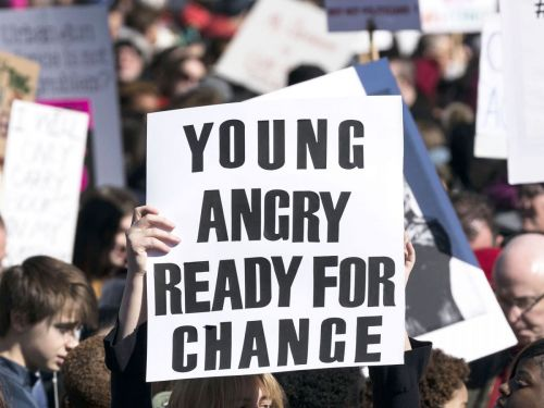 Gen Z Made The Most Powerful & Inspiring Posters For March For Our Lives