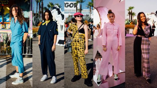 Jumpsuits Were a Festival Favorite at Camp Flog Gnaw 2019
