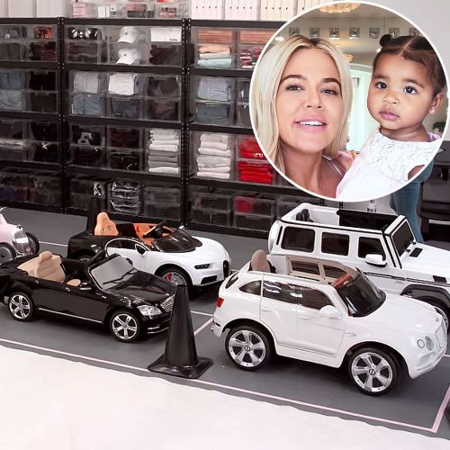 Khloe Kardashian's Daughter True Gets Customized Parking Spaces After Garage Makeover on 'The Home Edit'