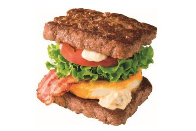 Wendy's Japan's 'Wild Rock' Sandwich Swaps out Bread With Two All-Beef Patties