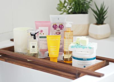 Stuff In My Bathroom I'm Loving Right Now (Eight Of My Fave Pampering Treats With The Best Fragrances!)