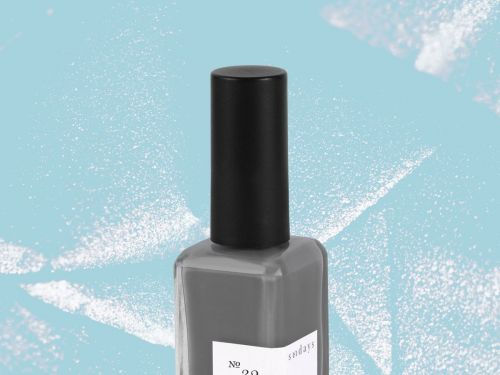 Gray Nail Polishes That Won't Make You Look Frostbitten