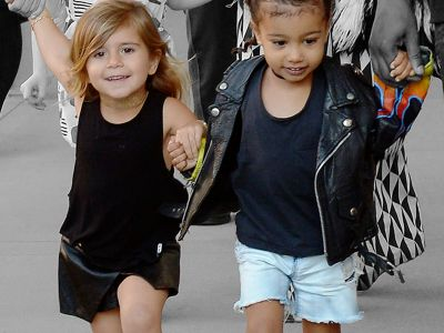Penelope Disick & North West Shared A Disney Princess Birthday