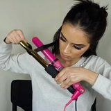 Is the Secret to a Perfect Mermaid Mane 2 Curling Irons Taped Together?