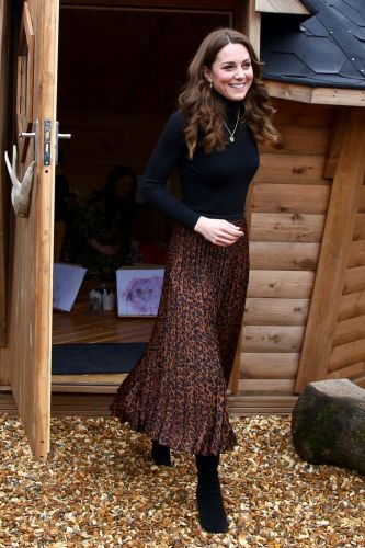 Why It Matters That Kate Middleton's Leopard Print Skirt Is From Zara