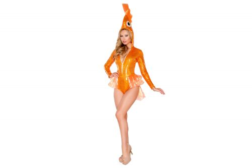 The internet doesn't know how to feel about these sexy goldfish costumes