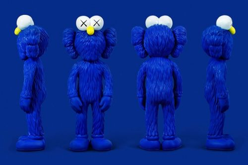 KAWS's Blue BFF Companion Is Coming to the MoMA Design Store