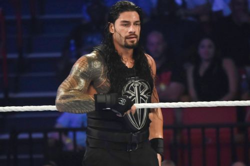 WWE star Roman Reigns reveals he's battling leukemia