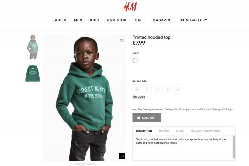 H&M child model and family had to move over 'security concerns'