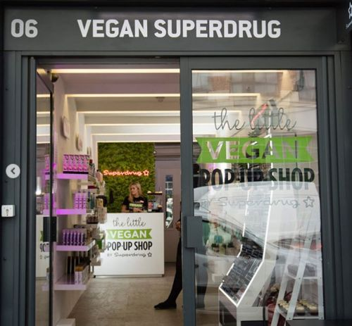 Superdrug launches a vegan, cruelty-free health and beauty pop-up shop in Shoreditch