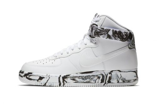 The Nike Air Force 1 High Sees a Demure Marble Makeover