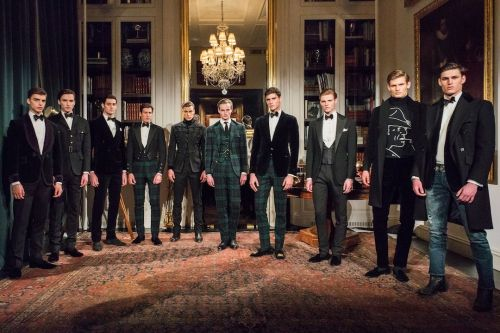 Ralph Lauren Purple Label: Menswear AW18