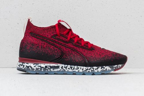 "PUMA's Controversial Jamming Cushion Receives an Aggressive ""Red Dahlia"" Makeover"