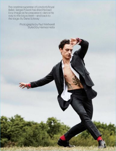Rebel with a Cause: Sergei Polunin Poses for W Magazine