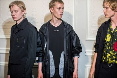 The Devil Is in the Backstage at OAMC's 2018 Spring/Summer Show