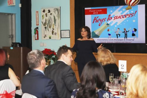 Repêchage Hosts Annual Power Lunch