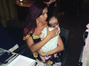 Amy Childs Opens Up About Postpartum Hair Loss On Instagram