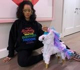 Rihanna's Birthday Nails Were More Colorful Than Her Freakin' Piñata, So There's That