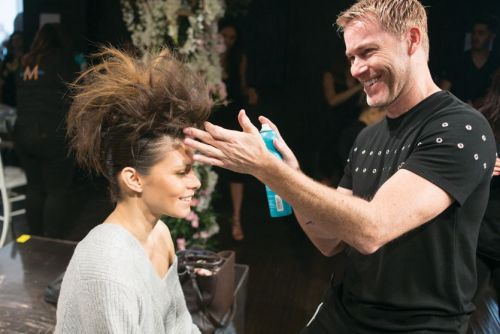 Artistic Director Kevin Hughes Leads the Education Charge at Moroccanoil