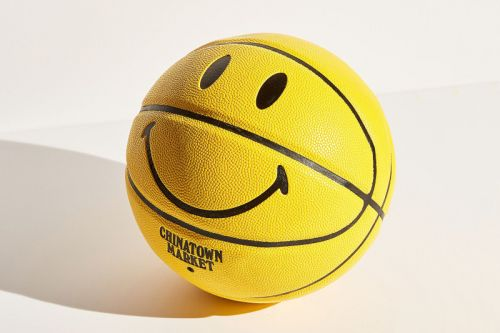 Chinatown Market Releases Playful Smiley Face Basketball