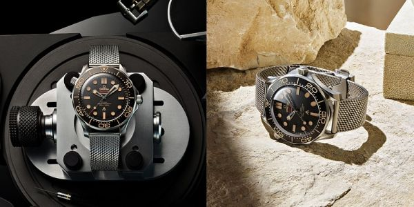 OMEGA's Seamaster Diver 300M 007 Edition Celebrates 25th James Bond Film, 'No Time To Die'