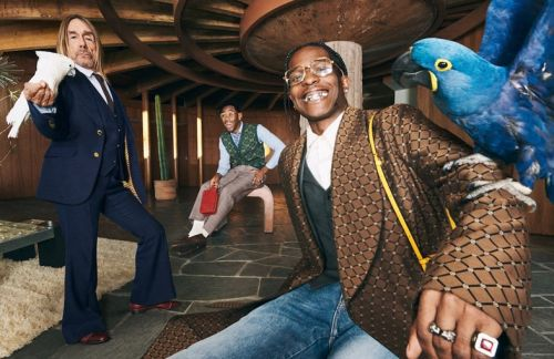 Tyler, The Creator, A$AP Rocky, and Iggy Pop party in new Gucci campaign