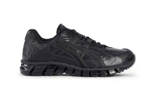 "ASICS Dresses Its GEL-KAYANO 5 360 in Stealthy ""Triple Black"""