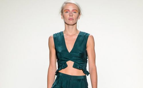 Leanne Marshall gets more day wear friendly for NYFW