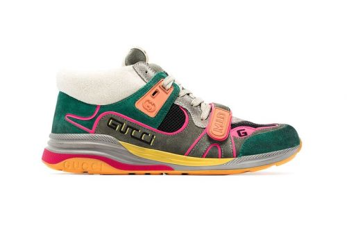 Gucci's Vintage-Inspired Ultrapace Gets Vibrant Mid-Top Overhaul