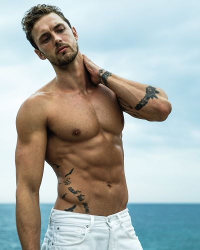 Christian Hogue Stars in Davidoff Cool Water Intense Fragrance Campaign