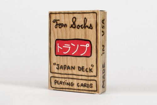 """Tom Sachs Creates """"Japan Deck"""" Plywood Playing Cards About Tea Ceremonies"""