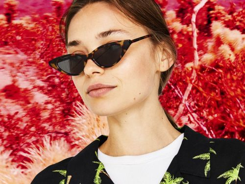 This Summer's Sunglass Trends Are Not For The Faint Of Heart