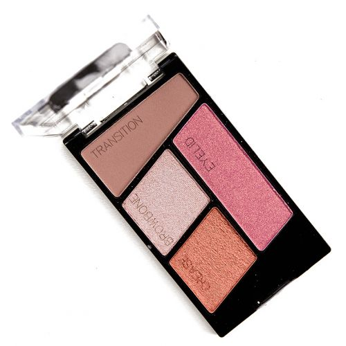 Wet 'n' Wild Stop Ruffling My Feathers Color Icon Eyeshadow Quad Review, Photos, Swatches