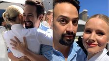 Kristen Bell And Lin-Manuel Miranda's Celebrity Meet Cute Is So Pure