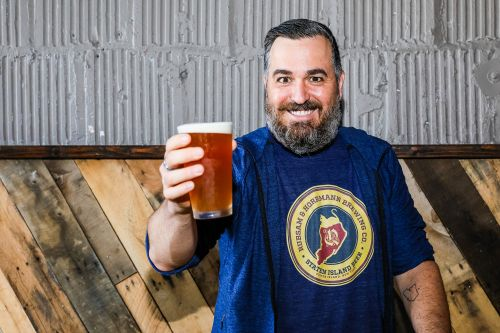 'Impractical Jokers' star is serious about reviving Staten Island beer