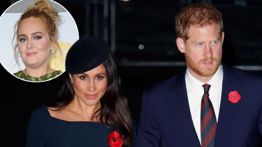 Prince Harry, Meghan Markle, And Adele Joined Forces To Give Back And It's Getting Us In The Holiday Spirit