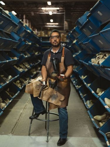 Legendary Bootmaker of The American West - Lucchese partners with Neiman Marcus