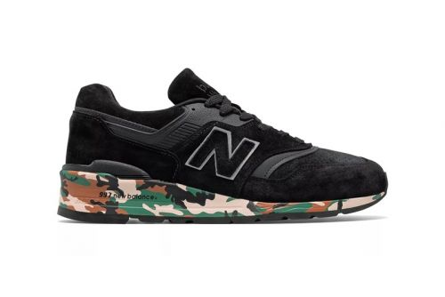 New Balance Made In USA 997 Gets Printed With Camo Midsole