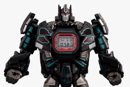 G-SHOCK & 'Transformers' Launch New Master Nemesis Optimus Prime Watch Set