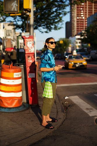 On the Street.Delancey, New York